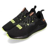 Puma 慢跑鞋 Hybrid NX Daylight 黑 綠 避震顆粒 專業慢跑訓練鞋 男鞋 運動鞋【PUMP306】 19236502