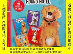 二手書博民逛書店adventres罕見at hound hotel 4 books in one 獵犬冒險者4本書合一Y191