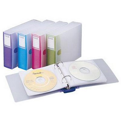 Flying 雙鶖牌 CD6508翡翠24片裝CD保存夾