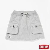 CHUMS 日本 女風格短裙 淺灰 CH181060G005