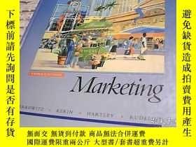 二手書博民逛書店Marketing罕見市場營銷Y247341 外文 出版1992