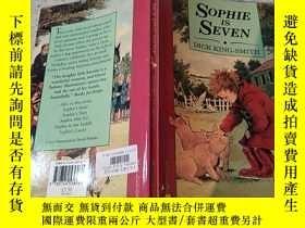 二手書博民逛書店Sophie罕見is Seven :蘇菲七歲Y200392