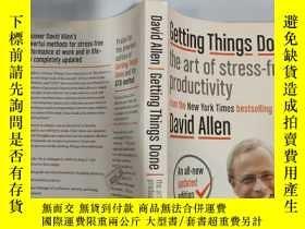 二手書博民逛書店getting罕見things done the art of stress free productivity