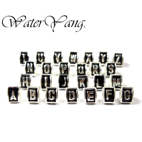 WaterYang.×英文26字母A B C D E F G H I J K L M N O P Q R S T U V W X Y Z 串珠 配件 潘朵拉風