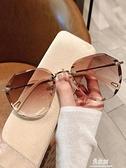 墨鏡 墨鏡女ins2020年新款圓臉韓版潮時尚太陽眼鏡防紫外線大臉顯瘦