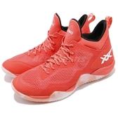 【六折特賣】Asics 籃球鞋 Blaze Nova 橘 白 男鞋 混色中底 高筒 緩震舒適 運動鞋 【PUMP306】 TBF31G3001