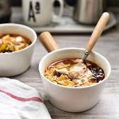 碗早餐碗甜品碗水果沙拉碗餐具帶柄