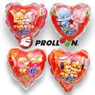 【大倫氣球】14cm 情人-圓形、心形自動充氣鋁箔氣球 BLOSSOM BALLOON、慶祝、各式Party活動 婚禮小物
