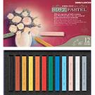 SIMBALION 雄獅 12色軟式粉彩筆