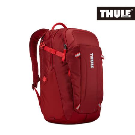 THULE 都樂-EnRoute Blur 2筆電後背包TEBD-217(忠欣公司貨)-緋紅色