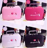 韓版大容量化妝包專業便攜旅行可愛少女收納洗漱化妝盒手提小號化妝箱 LXY156【Pink中大尺碼】TW
