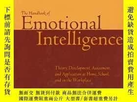 二手書博民逛書店【英文原版】The罕見Handbook of Emotional Intelligence : Theory, D