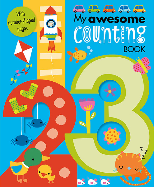 My Awesome Counting Book 我的數數 趣味學習書