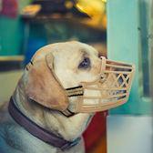 塑料狗口罩狗狗嘴套防咬防狗叫止吠器狗口罩狗狗用品