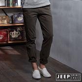 【JEEP】時尚型男休閒褲 (橄欖綠)