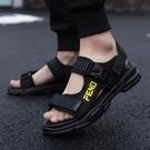 涼鞋男 2020夏季新款男士涼鞋室外休閒青年沙灘鞋潮流時尚外穿兩用涼拖鞋【全館免運】