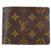 Louis Vuitton LV M60895 Monagram經典花紋折疊短夾 全新 現貨【茱麗葉精品】
