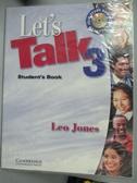 【書寶 書T6 /語言學習_ZBT 】Let 's Talk 3 Student 's Book_Jones Leo