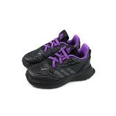 adidas Rapidarun Avengers EL I 復仇者聯盟 童鞋 運動鞋 黑/紫 魔鬼氈 小童 G27552 no732