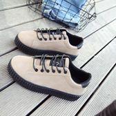 女鞋秋季鞋子韓版學生原宿風ulzzang帆布鞋百搭休閒板鞋 居享優品