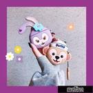 保護殼 可愛紫色兔子AirPods保護套蘋果1/2代Pro3代無線藍牙耳【免運出貨】