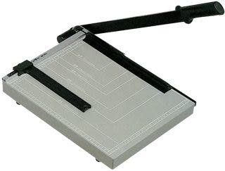 [奇奇文具]【KW-trio 裁紙機】KW 01S鐵板製B3裁紙機/裁紙器/切紙機