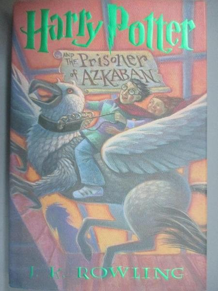 【書寶二手書T7/原文小說_QOK】Harry Potter and the Prisoner of Azkaban_J.K.Rowling