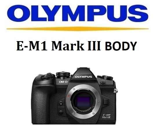名揚數位 OLYMPUS E-M1 Mark III 單機身 元佑公司貨 保固兩年 (分24期0利率) 首購贈BLH-1原電(5/31)