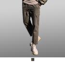 【男人幫大尺碼】K0652*復古百搭休閒長褲