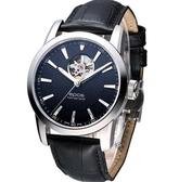 epos Sophistiquee專精系列錶款後蓋鏤空自動機械男錶3423.133.20.15.25FB