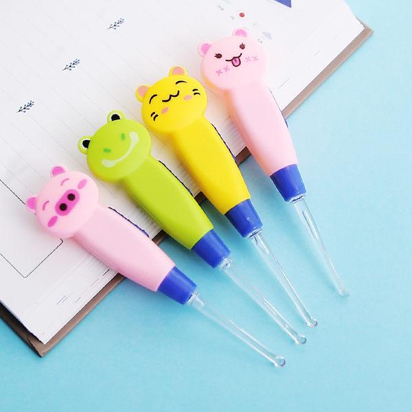 【00132】 動物造型發光耳棒 兒童耳勺 挖耳朵超簡單