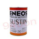【94bon】 新日本石油 ENEOS SUSTIN 100%全合成機油 API SN 5w30 5w-30