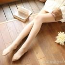 連身褲襪連褲襪女春秋款中厚絲襪光腿天鵝絨防勾絲肉色打底襪連腳薄款 【快速出貨】