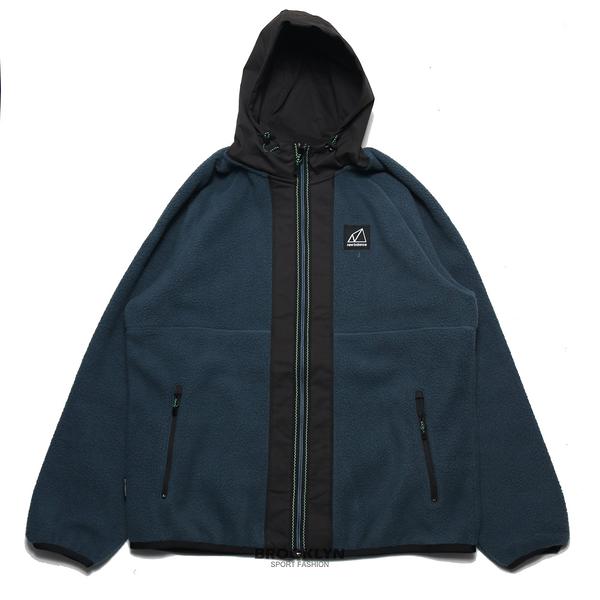 NEW BALANCE 外套 莫蘭迪藍 拼接 羔羊毛 保暖 休閒 男 (布魯克林) AMJ13506DOG