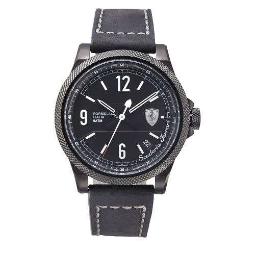 FERRARI  速度感時尚鍊帶腕錶/0830272