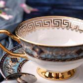 骨瓷咖啡杯茶杯手工描金邊陶瓷咖啡杯