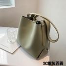 水桶包 簡約大氣包包女大容量2021新款...
