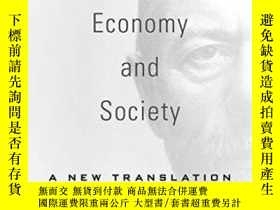 二手書博民逛書店Economy罕見And SocietyY364153 Max Weber Harvard Universit