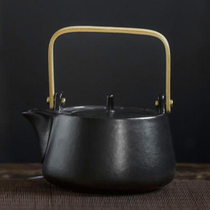 禹物電陶爐煮酒器中式溫酒器酒具套裝家用黃酒燙酒壺電加熱煮茶器 一木良品
