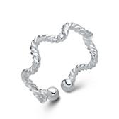 925純銀戒指 -可愛簡單生日情人節禮物女配件73an40【巴黎精品】