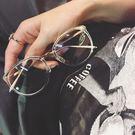 眼鏡框  圓臉大框平光鏡必備透明框