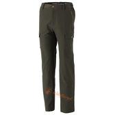Wildland 荒野 0A32306-05灰綠 男 彈性貼袋保暖休閒長褲*大尺碼*