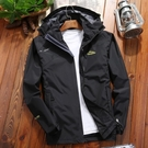 戶外冬季衝鋒衣男女士三合一兩件套可拆卸潮牌加絨加厚外套登山服  喵可可