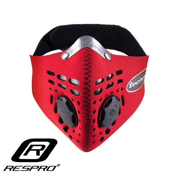 英國 RESPRO TECHNO 防霾競速騎士口罩( 紅色 )