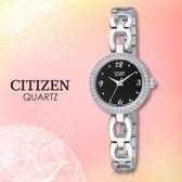 CITIZEN 星辰 手錶專賣店 EJ6070-51E 石英錶 女錶 日期 不鏽鋼錶殼錶帶 強化礦石玻璃