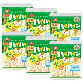 龜田 - 嬰兒米果 - 野菜仙貝 6包入 (本批至2019/09/20)