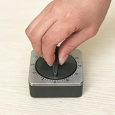 西餐廚房定時器倒計時器提醒器鬧鐘機械式帶磁鐵可吸大聲音量酒店