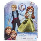 《 Disney 迪士尼 》冰雪奇緣人物角色 2 入組 - 安娜與阿克  ╭★ JOYBUS玩具百貨