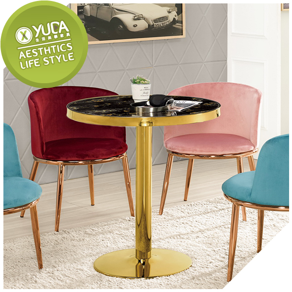 【YUDA】 芝諾斯 2.3尺  圓桌 /  餐桌   /  休閒桌  J9M 1005-1