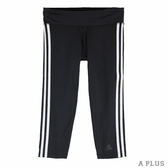 adidas 女 D2M 3S3/4TIGH 愛迪達 緊身七分褲- BQ2045